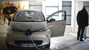 La Zoé de Renault le 14 mars 2013 (PATRICIA MELO MOREIRA / AFP)