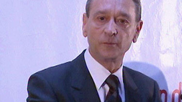 Le maire de Paris, Bertrand Delanoë (© France 2)