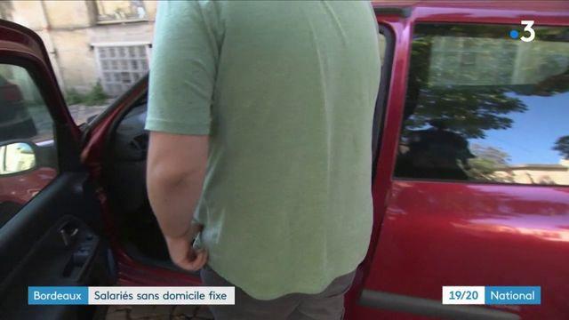Bordeaux : des salariés sans domicile fixe