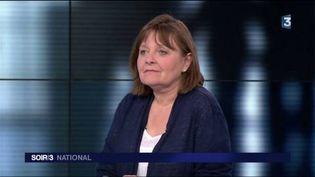 """Margaux Gilquin, auteur du livre """"Le dernier salaire"""". (FRANCE 3)"""