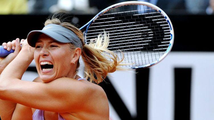 Maria Sharapova a maîtrisé son entrée en lice à Roland Garros (TIZIANA FABI / AFP)
