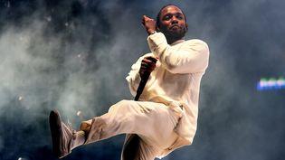 """Kendrick Lamar a été récompensé par le Prix Pulitzer de musique pour son album au succès planétaire """"DAMN.""""  (KEVIN WINTER / GETTY IMAGES NORTH AMERICA / AFP)"""