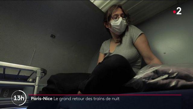 Paris-Nice : le train de nuit est de retour