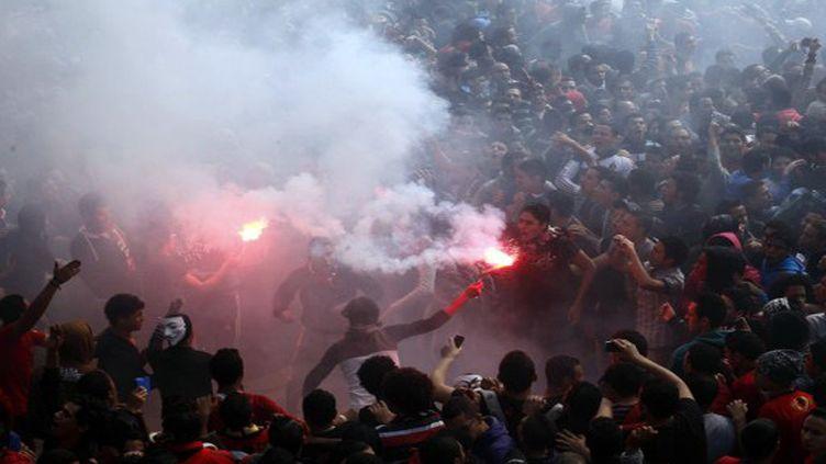Le football égyptien en proie à la violence  (MAHMUD KHALED / AFP)