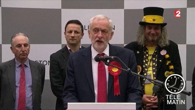 Législatives au Royaume-Uni : Corbyn réclame la démission de May