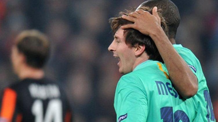 Lionel Messi (Barcelone) (SERGEI SUPINSKY / AFP)
