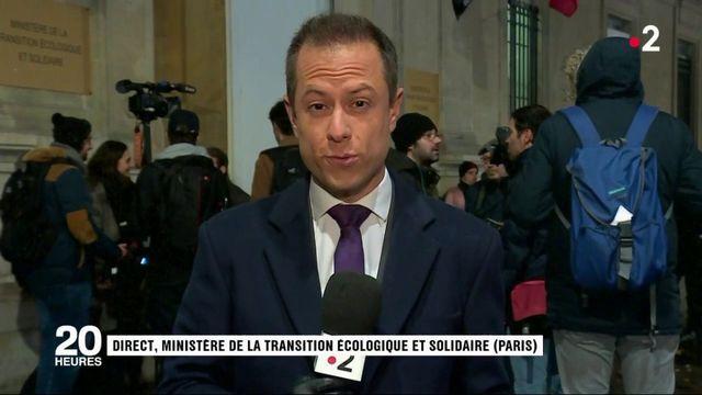 """""""Gilets jaunes"""" : François de Rugy reçoit des représentants"""