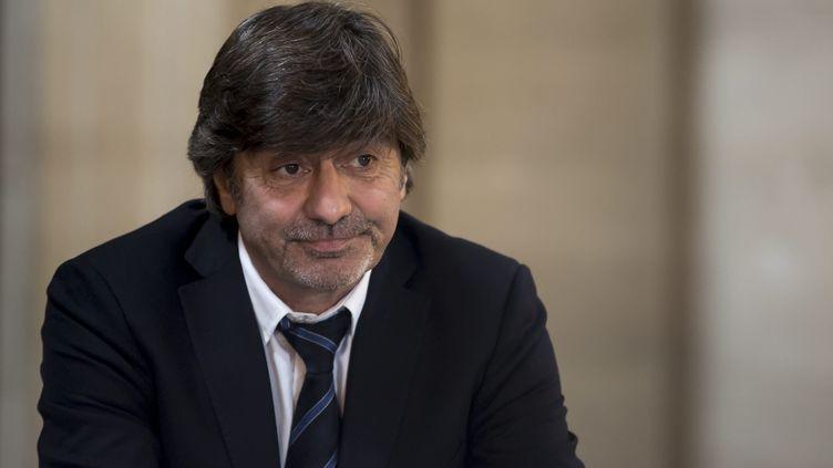 L'ancien numéro 2 de la PJ de Lyon Michel Neyret au tribunal correctionnel de Paris, le 23 mai 2016. (MAXPPP)