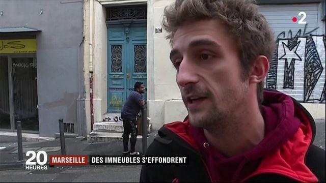 Marseille : des immeubles s'effondrent