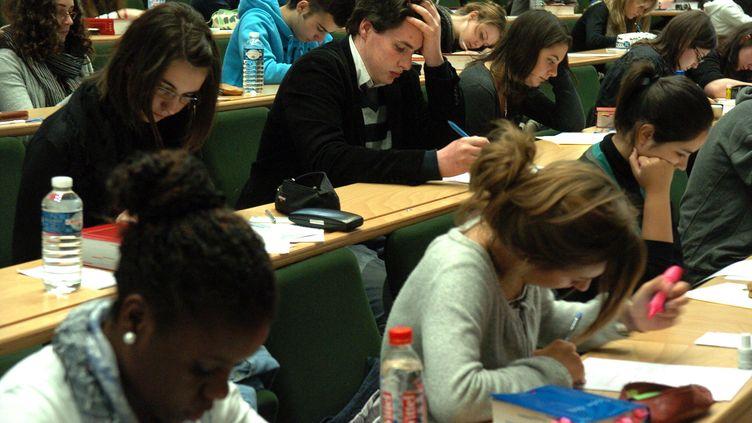 Le texte adopté mardi 28 mai par l'Assembléeprévoit notamment l'enseignement en anglais dans les universités françaises pour certains cours. (MAXPPP)