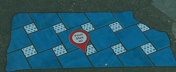 Flacking d'Ememem dans les rues de Lyon  (France 3/ Culturebox )