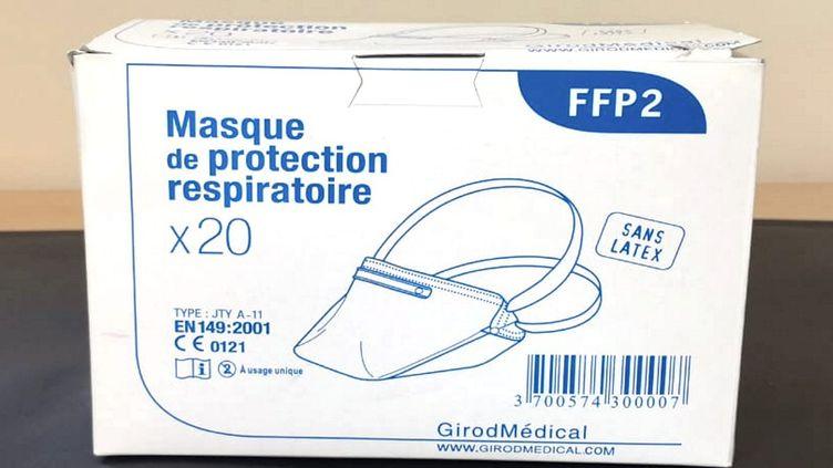 Desmasques de protection FFP2 (illustration). (ALAIN DELPEY / MAXPPP)
