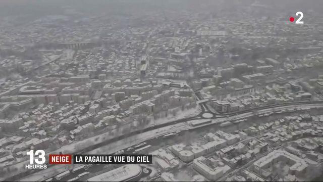 L'Ile-de-France sous la neige : les images vues du ciel