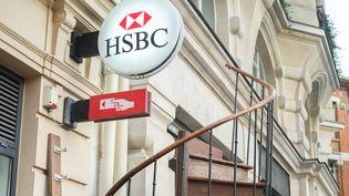 HSBC a fermé près de 30% de son réseau. (BRUNO LEVESQUE / MAXPPP)