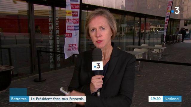Retraites : Emmanuel Macron lance un débat à Rodez
