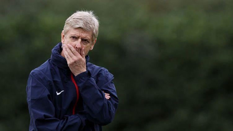 L'entraîneur d'Arsenal, Arsène Wenger