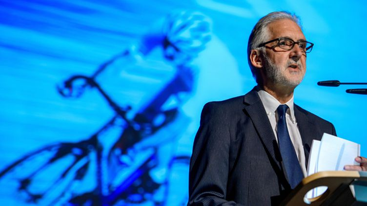 Brian Cookson, Président de l'UCI (FABRICE COFFRINI / AFP)