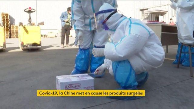 Coronavirus : la Chine pointe du doigt les produits surgelés