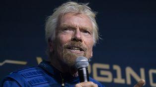 Le milliardaire Richard Branson, le 16 octobre 2019 à New York (Etats-Unis). (DON EMMERT / AFP)