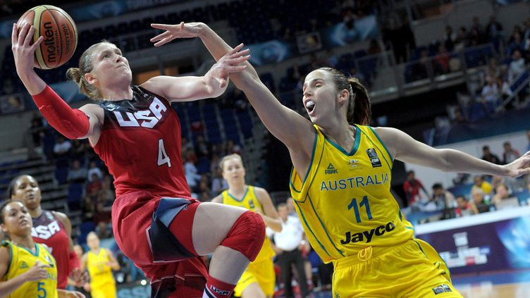Lindsay Whalen et les USA défendront leur titre (OZAN KOSE / AFP)