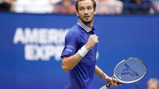 Daniil Medvedev prend un meilleur départ face à Novak Djokovic. (SARAH STIER / GETTY IMAGES NORTH AMERICA)