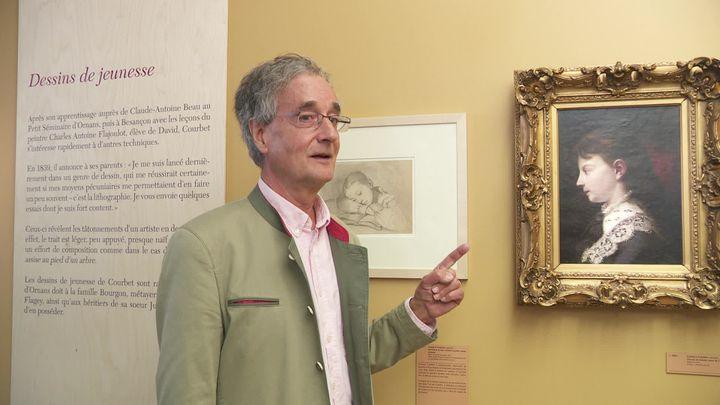 L'association Les nouveaux Mécènes de Courbet oeuvre pour permettre au musée Gustave Courbet d'acquérir un portrait de Juliette, la soeur de l'artiste (France 3 Franche-Comté)