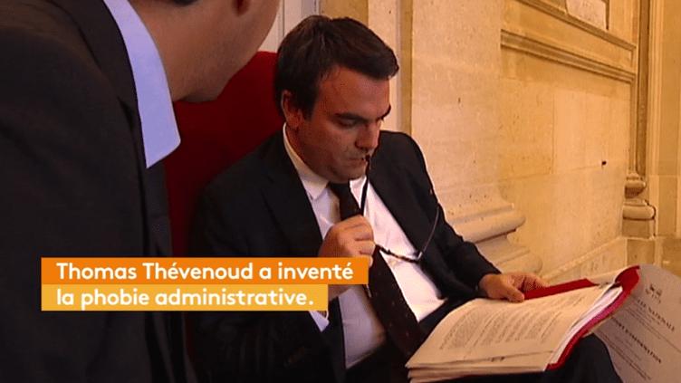 Thomas Thévenoud et la phobie administrative (FRANCEINFO)