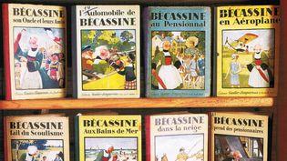 """""""Bécassine dévoile les trésors de Loulotte"""" : différents albums de Bécassine  (Musée de la Poupée-Paris)"""