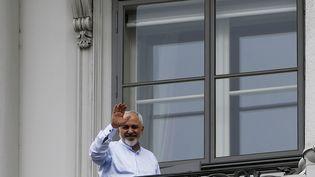 Le ministre des Affaires étrangères iranien, Javad Zarif, au palais Coburg à Vienne (Autriche), où se déroulent les négociations sur le programme nucléaire iranien, le 13 juillet 2015. (? LEONHARD FOEGER / REUTERS / X00360)