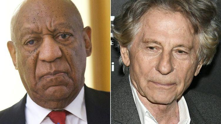 Bill Cosby et Roman Polanski  (Lionel BONAVENTURE, Mark Makela / AFP / GETTY IMAGES NORTH AMERICA)