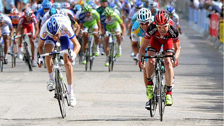 Cadel Evans a raflé la mise lors de la 1ere étape du Dauphiné