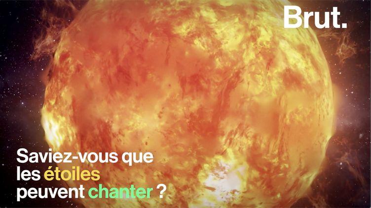 VIDEO. Saviez-vous que les étoiles peuvent chanter ? (BRUT)