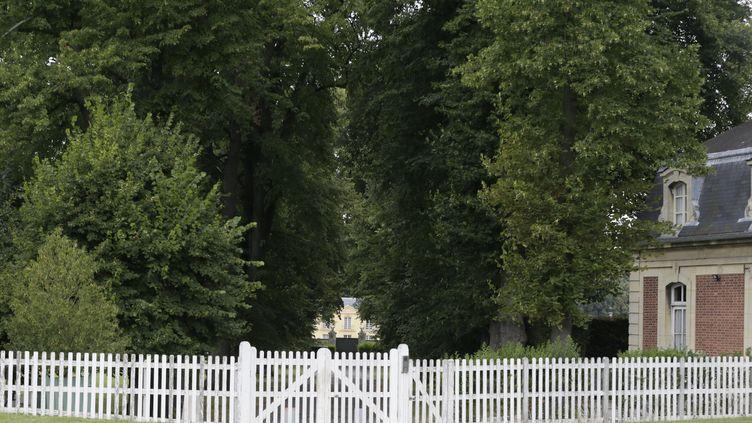 La Lanterne, résidence présidentielle, à Versailles. (KENZO TRIBOUILLARD / AFP)