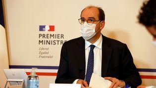Le Premier ministre Jean Castex à Matignon à Paris, lundi 23 novembre 2020. (LUDOVIC MARIN / AFP)