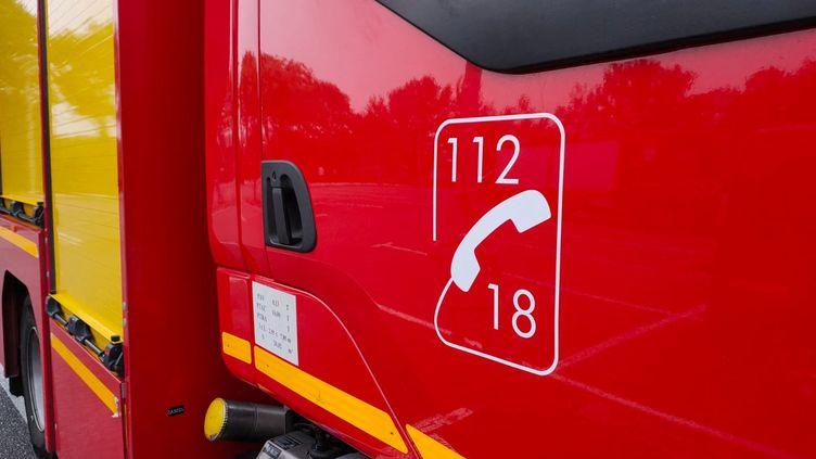 Illustration d'un camion de pompiers. (PIERRE-ANTOINE LEFORT / RADIO FRANCE)