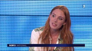 Laetitia Dosch, membre du jury du Champs-Élysées Film Festival. (FRANCE 3)