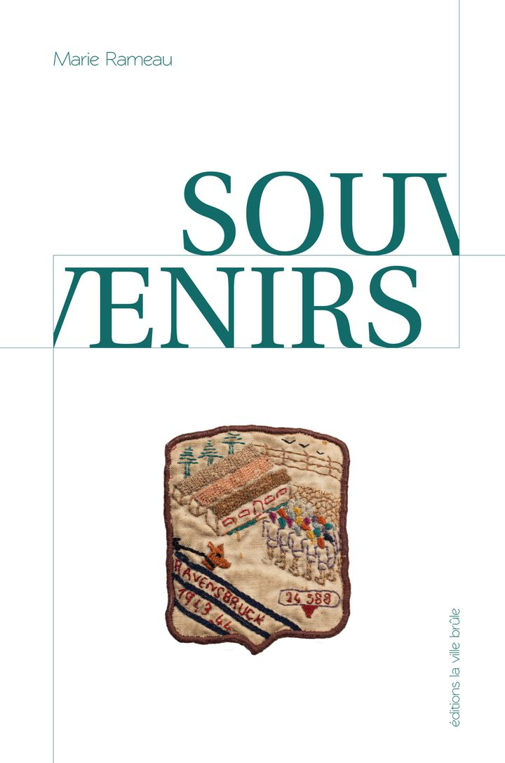 """L'un des objets fabriqués dans les camps, surla première de couverture de """"Souvenirs"""", de Marie Rameau. (EDITIONS LA VILLE BRÛLE)"""