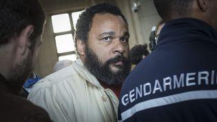 Dieudonné M'Bala M'Bala, le 12 mars 2015, au palais de justice de Paris. (  MAXPPP)