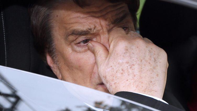 Bernard Tapie à Nice, le 20 décembre 2012. (VALERY HACHE / AFP)