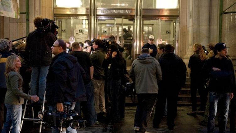 Dominique Strauss-Kahn a passé sa première nuit en liberté très surveillée dans un immeuble de Manhattan (New York). (AFP - Don Emmert)