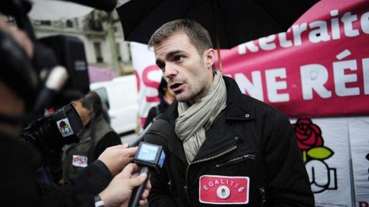 Bruno Julliard est le monsieur enseignement scolaire de la campagne de François Hollande (Fred Dufour AFP)